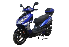 Blue Tao Tao Evo scooter rental