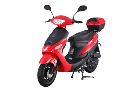 Red Tao Tao scooter rental